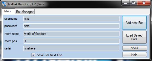 Nimbuzz chat room bot | masud rana.